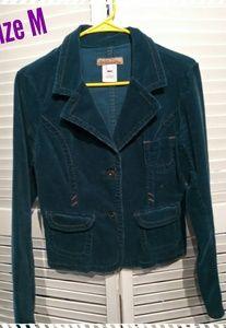 Torquoise Corduroy Jacket